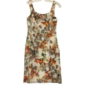 Banana Republic Silk Floral Dress